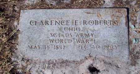 ROBERTS, CLARENCE E. - Lee County, Florida | CLARENCE E. ROBERTS - Florida Gravestone Photos