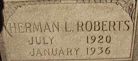 ROBERTS, HERMAN L. - Lee County, Florida   HERMAN L. ROBERTS - Florida Gravestone Photos