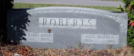 ROBERTS, JEFFERSON DAVIS - Lee County, Florida   JEFFERSON DAVIS ROBERTS - Florida Gravestone Photos