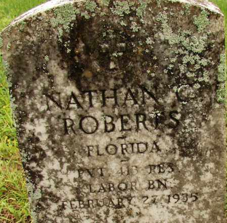 ROBERTS (VETERAN WWI), NATHAN C - Lee County, Florida | NATHAN C ROBERTS (VETERAN WWI) - Florida Gravestone Photos