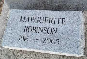 ROBINSON, MARGUERITE - Lee County, Florida | MARGUERITE ROBINSON - Florida Gravestone Photos