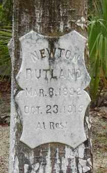 RUTLAND, NEWTON - Lee County, Florida | NEWTON RUTLAND - Florida Gravestone Photos