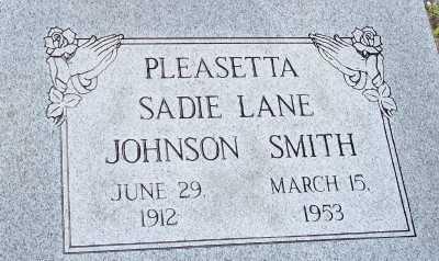 LANE SMITH, PLEASETTA SADIE JOHNSON - Lee County, Florida | PLEASETTA SADIE JOHNSON LANE SMITH - Florida Gravestone Photos
