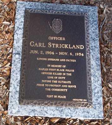 STRICKLAND, CARL - Lee County, Florida | CARL STRICKLAND - Florida Gravestone Photos