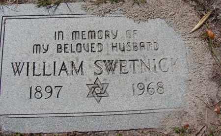 SWETNICK, WILLIAM - Lee County, Florida | WILLIAM SWETNICK - Florida Gravestone Photos