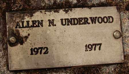 UNDERWOOD, ALLEN NATHANIEL - Lee County, Florida | ALLEN NATHANIEL UNDERWOOD - Florida Gravestone Photos