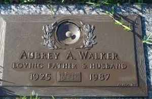 WALKER, AUBREY A. - Lee County, Florida | AUBREY A. WALKER - Florida Gravestone Photos