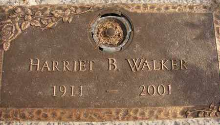 WALKER, HARRIET B. - Lee County, Florida | HARRIET B. WALKER - Florida Gravestone Photos