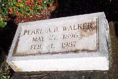 WALKER, PEARL ALICE - Lee County, Florida   PEARL ALICE WALKER - Florida Gravestone Photos