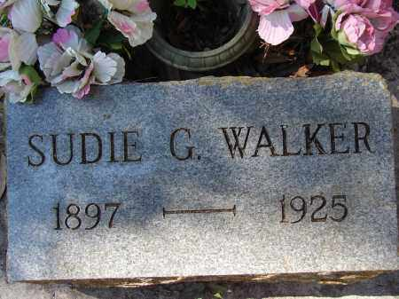 WALKER, SUDIE G - Lee County, Florida | SUDIE G WALKER - Florida Gravestone Photos