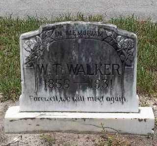 WALKER, WILLIAM T. - Lee County, Florida | WILLIAM T. WALKER - Florida Gravestone Photos