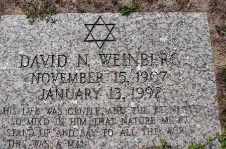 WEINBERG, DAVID N - Lee County, Florida | DAVID N WEINBERG - Florida Gravestone Photos
