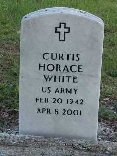 WHITE (VETERAN), CURTIS HORACE - Lee County, Florida | CURTIS HORACE WHITE (VETERAN) - Florida Gravestone Photos