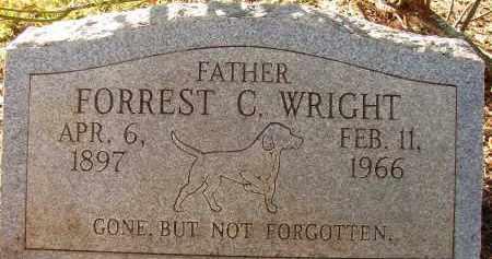 WRIGHT, FORREST C. - Lee County, Florida | FORREST C. WRIGHT - Florida Gravestone Photos