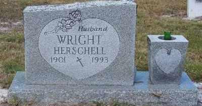 WRIGHT, HERSCHELL - Lee County, Florida | HERSCHELL WRIGHT - Florida Gravestone Photos