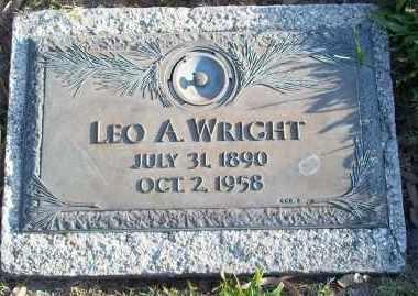 WRIGHT, LEO A. - Lee County, Florida   LEO A. WRIGHT - Florida Gravestone Photos