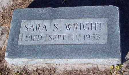 WRIGHT, SARA  S. - Lee County, Florida   SARA  S. WRIGHT - Florida Gravestone Photos