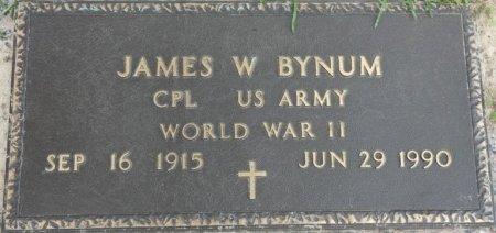 BYNUM (VETERAN WWII), JAMES WOODROW (NEW) - Leon County, Florida | JAMES WOODROW (NEW) BYNUM (VETERAN WWII) - Florida Gravestone Photos