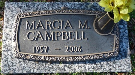 CAMPBELL, MARCIA M - Leon County, Florida | MARCIA M CAMPBELL - Florida Gravestone Photos