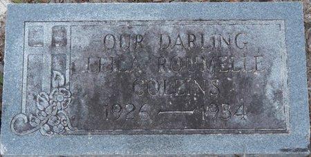 COLLINS, LEILA ROUMELLE - Leon County, Florida | LEILA ROUMELLE COLLINS - Florida Gravestone Photos