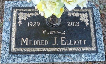 ELLIOTT, MILDRED - Leon County, Florida | MILDRED ELLIOTT - Florida Gravestone Photos