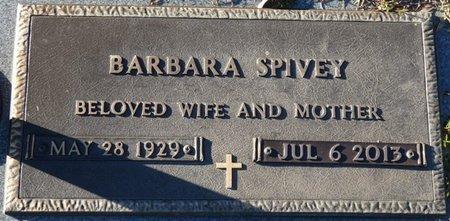 SPIVEY, BARBARA - Leon County, Florida | BARBARA SPIVEY - Florida Gravestone Photos
