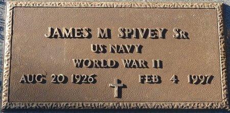 SPIVEY, SR (VETERAN WWII), JAMES M (NEW) - Leon County, Florida | JAMES M (NEW) SPIVEY, SR (VETERAN WWII) - Florida Gravestone Photos