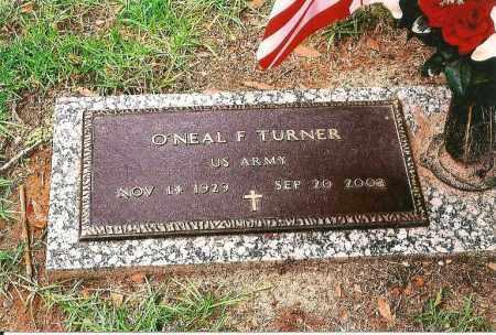 TURNER (VETERAN), O'NEAL F. (NEW) - Leon County, Florida   O'NEAL F. (NEW) TURNER (VETERAN) - Florida Gravestone Photos