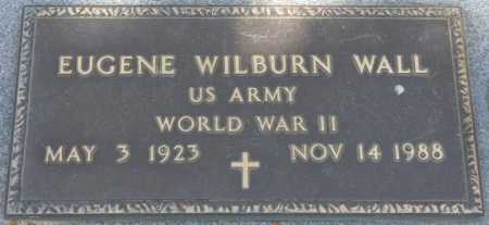 WALL (VETERAN WWII), EUGENE WILBURN (NEW) - Leon County, Florida | EUGENE WILBURN (NEW) WALL (VETERAN WWII) - Florida Gravestone Photos