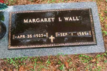 WALL, MARGARET LEE - Leon County, Florida | MARGARET LEE WALL - Florida Gravestone Photos