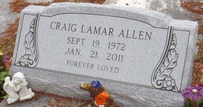 ALLEN, CRAIG LAMAR - Levy County, Florida   CRAIG LAMAR ALLEN - Florida Gravestone Photos