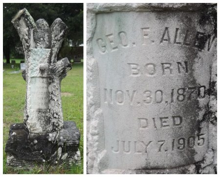ALLEN, GEORGE F. - Levy County, Florida   GEORGE F. ALLEN - Florida Gravestone Photos