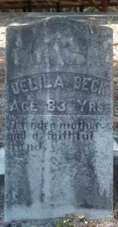 BECK, DELILA - Levy County, Florida | DELILA BECK - Florida Gravestone Photos