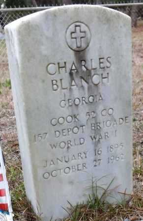 BLANCH (VETERAN WWI), CHARLES (NEW) - Levy County, Florida   CHARLES (NEW) BLANCH (VETERAN WWI) - Florida Gravestone Photos