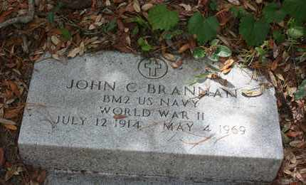 BRANNAN (VETERAN WWII), JOHN C - Levy County, Florida   JOHN C BRANNAN (VETERAN WWII) - Florida Gravestone Photos