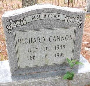 CANNON, RICHARD - Levy County, Florida | RICHARD CANNON - Florida Gravestone Photos