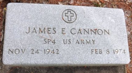 CANNON (VETERAN), JAMES E. (NEW) - Levy County, Florida | JAMES E. (NEW) CANNON (VETERAN) - Florida Gravestone Photos