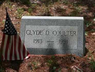 COULTER, CLYDE DAVID - Levy County, Florida   CLYDE DAVID COULTER - Florida Gravestone Photos