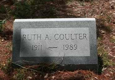 COULTER, RUTH A - Levy County, Florida   RUTH A COULTER - Florida Gravestone Photos