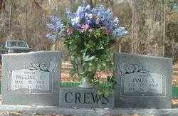 CREWS, PAULINE E - Levy County, Florida | PAULINE E CREWS - Florida Gravestone Photos