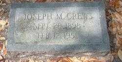 CREWS, JOSEPH MONROE - Levy County, Florida | JOSEPH MONROE CREWS - Florida Gravestone Photos