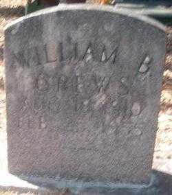 CREWS, WILLIAM B - Levy County, Florida | WILLIAM B CREWS - Florida Gravestone Photos
