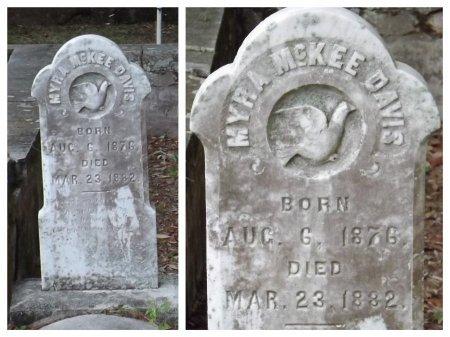 DAVIS, MYRA MCKEE - Levy County, Florida | MYRA MCKEE DAVIS - Florida Gravestone Photos