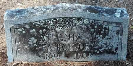 FAIRCLOTH, ATLANTA - Levy County, Florida | ATLANTA FAIRCLOTH - Florida Gravestone Photos
