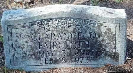 FAIRCLOTH, CLARENCE - Levy County, Florida | CLARENCE FAIRCLOTH - Florida Gravestone Photos