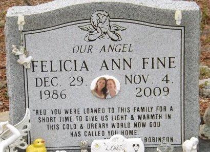 FINE, FELICIA ANN - Levy County, Florida | FELICIA ANN FINE - Florida Gravestone Photos