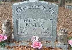 FOWLER, BETTY LEE - Levy County, Florida | BETTY LEE FOWLER - Florida Gravestone Photos
