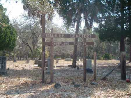 *GALILEE, CEMETERY - Levy County, Florida | CEMETERY *GALILEE - Florida Gravestone Photos
