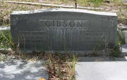 GIBSON, JOHN HENRY - Levy County, Florida   JOHN HENRY GIBSON - Florida Gravestone Photos