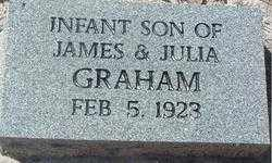 GRAHAM, INFANT SON - Levy County, Florida | INFANT SON GRAHAM - Florida Gravestone Photos